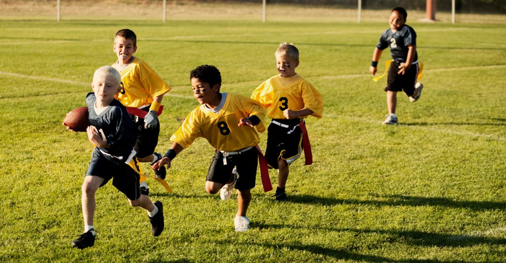 Hero Image: Flag Football