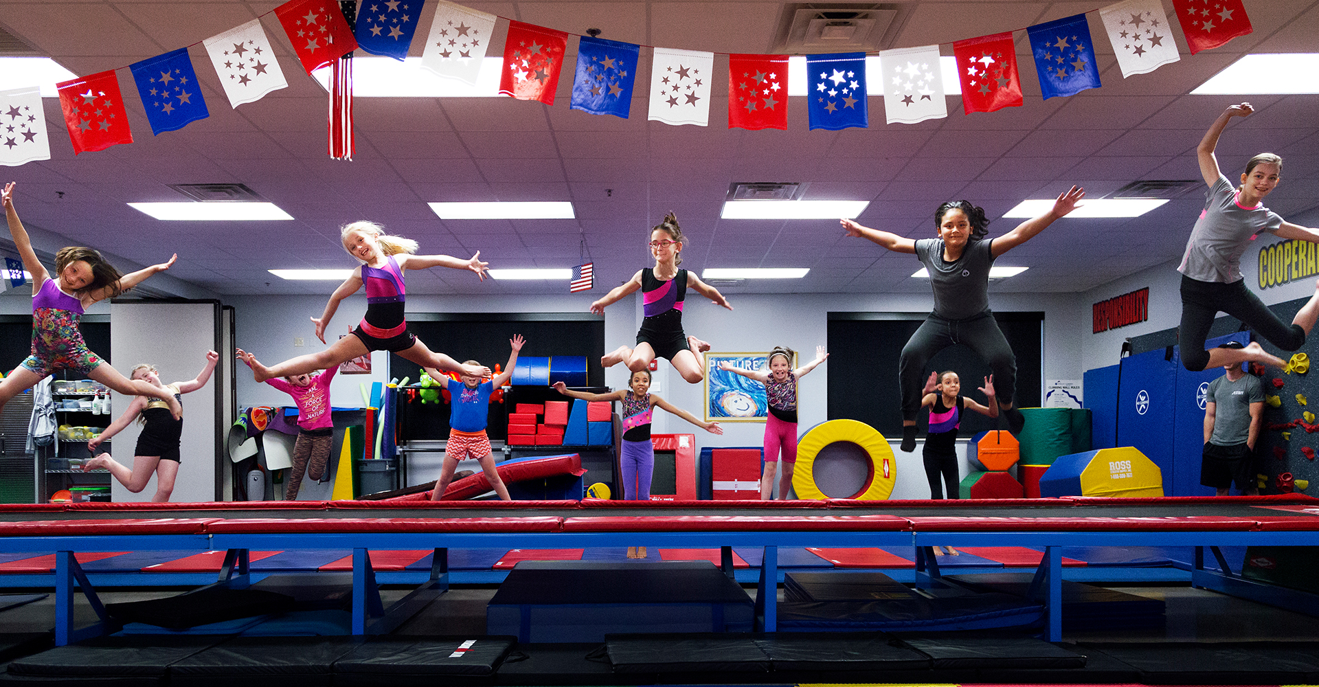 Hero Image: Gymnastics