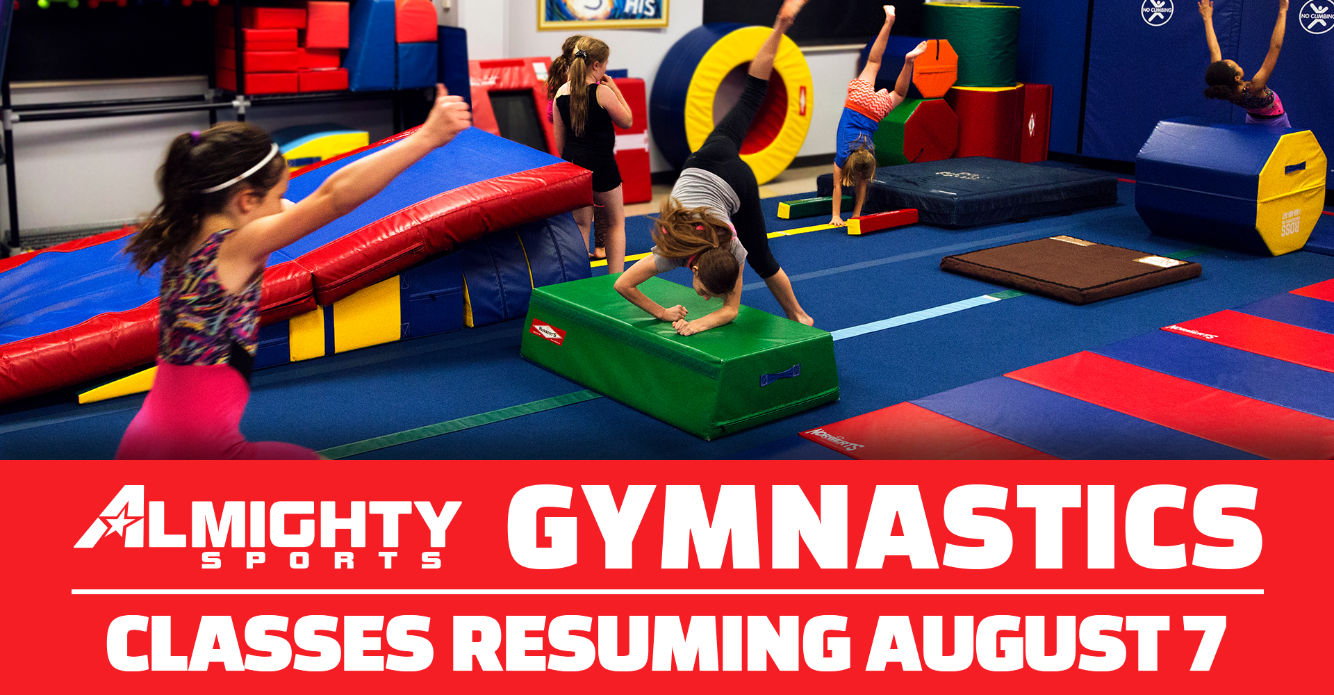 Slider Image: Gymnastics
